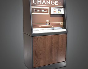 Change Machine 02 - RAC - PBR Game Ready 3D model