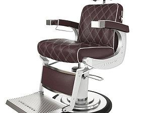 3D Barbershop armchair Belmont apollo 2