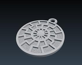 3D print model RUNIC PENDANT 26