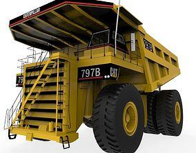 3D asset Cat 797B