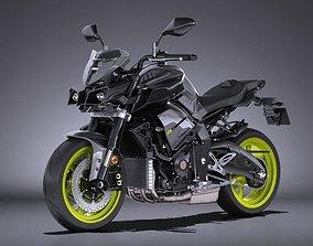 3D Yamaha MT-10 2016 Bike
