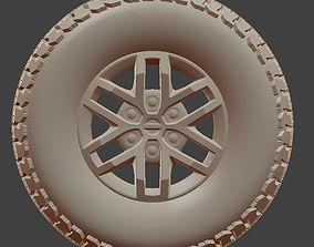 3D printable model F150 Raptor Tire and Rim