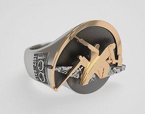 Hammers ring - 100 - original 3D print model