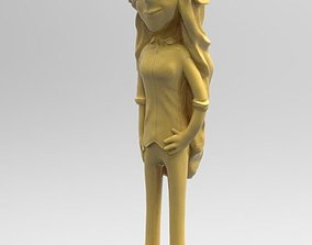 3D printable model Wendy Corduroy