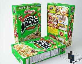 3D model Apple Jacks