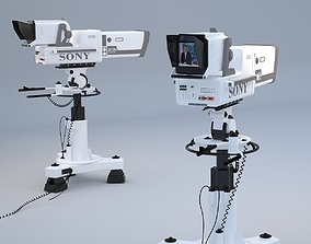 Professional SONY BVP 9000 STUDIO CAMERA 3D
