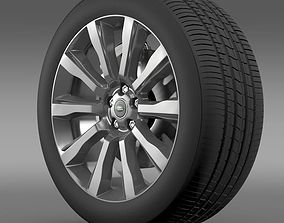 3D model RangeRover Supercharged wheel