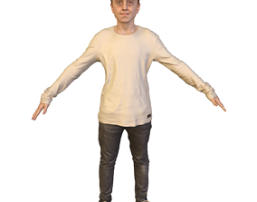 3D model No301 - Male T Pose