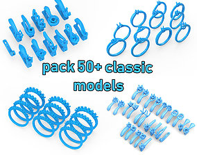 gold Pack of jewellery classic models