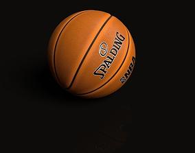 Spalding Basketball 3D model spalding
