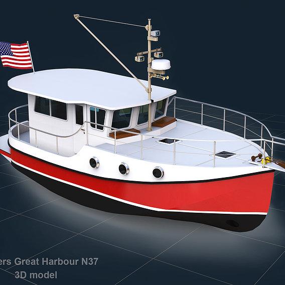 Trawlers Great Harbour N37