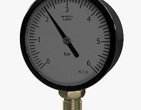 Pressure Gauge gas 3D model
