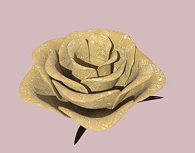 Rose pin 3D model