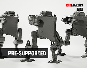 Imperial military force Heavy mech 3D printable model