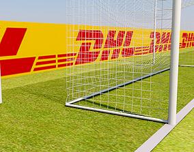 Soccer Goal 3D model soccer