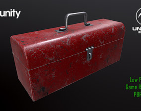 3D asset Old Red Toolbox