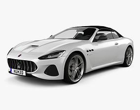 3D model Maserati GranCabrio MC 2017