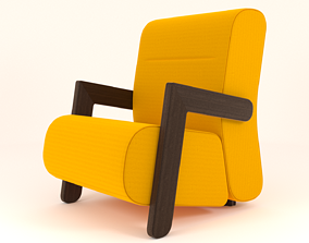 BASE Easy Chair - 3ds Max