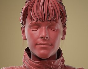 3D Facial Expression 0-00 Eyes Closed