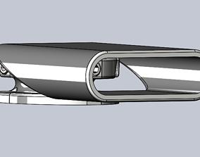 ALP Adjustable Grill Sensor Holder 3D printable model
