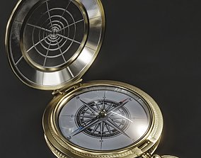 3D model realtime Old Compass