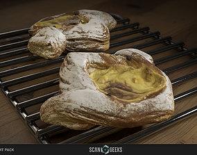 Pastry 10 - Photogrammetry Asset 3D VR / AR ready 3