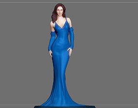 3D printable model WONDERWOMAN DRESS STATUE DC MOVIE 4