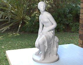 Nymph Statuette 3D asset