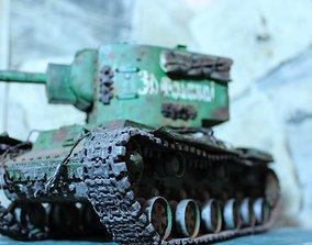 3D print model KV 2 Tanks