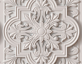 Decorative Ceiling Tile decorative 3D model