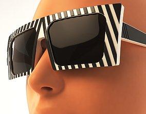 3D - Fresno - Sunglass Model