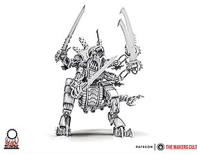 3D print model Iron Hive - Iron Lord - pack 1