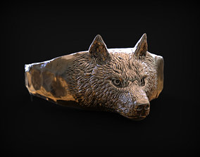 3D printable model Ring Spirit of Wolf