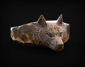 3D printable model Ring Spirit of Wolf