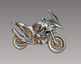 3D printable model bike motorcycle
