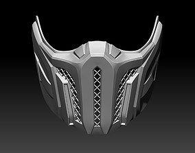 3D printable model Sub Zero mask for cosplay 4