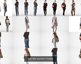 Cool Girls scanned 3D model