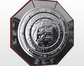 3D FA Community Charity Shield Trophy