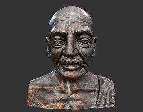 3D asset Gandhi by Enrique Garcia