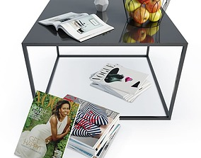 3D Coffee Table And Decoration