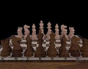 chess Chess Board 3D model