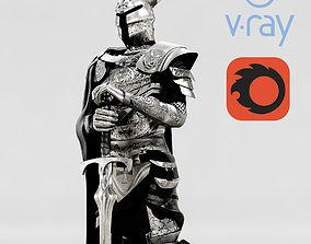 3D Knights Paladin Armor