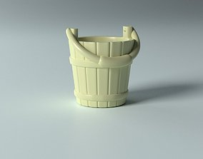 Cartoon props - Bucket 3D printable model
