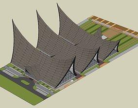 The Minangkabau House 3D printable model