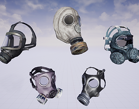 3D asset Mask Pack - 37 in 1