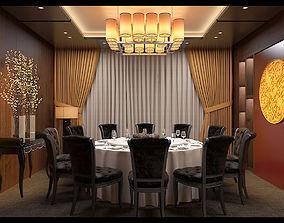 Restaurant diningroom tradition 3D