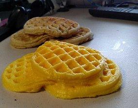 3D print model Let Go My Waffle