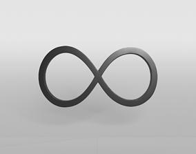 3D asset Unlimited Symbol v1 001