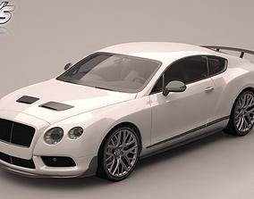 3D model Bentley Continental