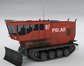 Polar transporter V3 red 3D